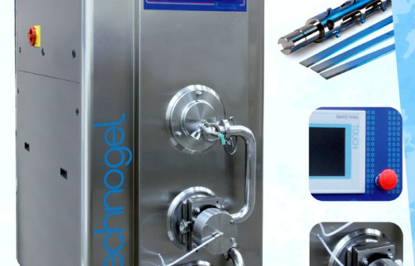 TECHNOGEL EXPLORER FREEZER WITH LOBE PUMP RANGE
